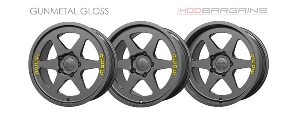Momo Heritage 6 Wheel Color Options Gunmetal Gloss Modbargains