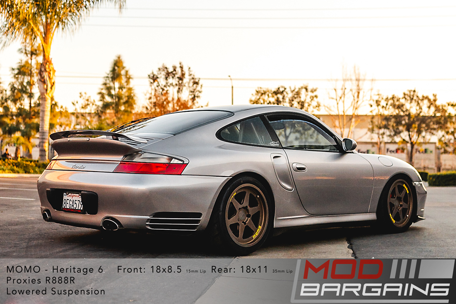 Momo Heritage 6 Wheels Porsche 996 911 Turbo Modbargains