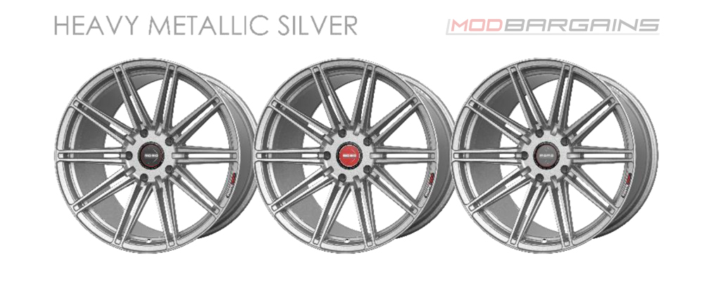 Momo RF-10S Wheel Color Options Heavy Metallic Silver Modbargains