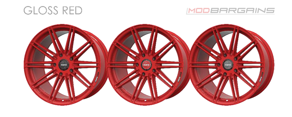 Momo RF-10S Wheel Color Options Gloss Red Modbargains