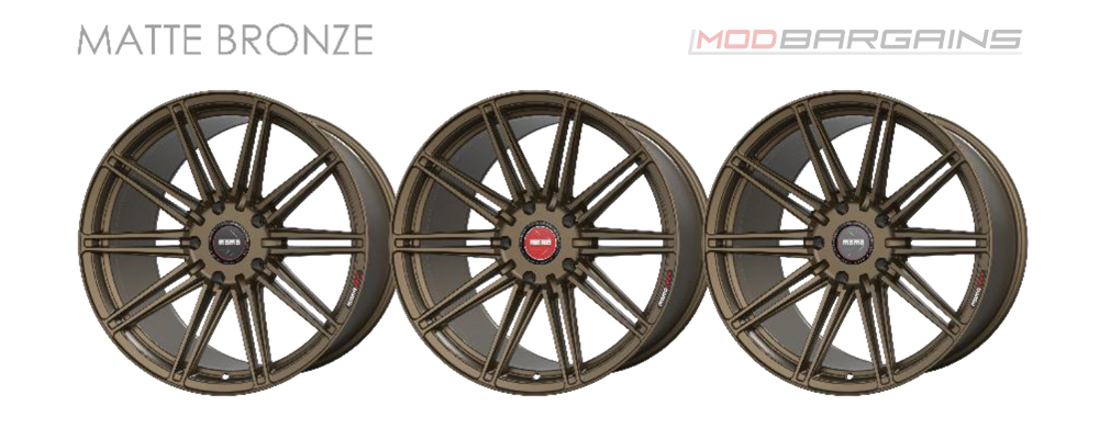 Momo RF-10S Wheel Color Options Matte Bronze Modbargains