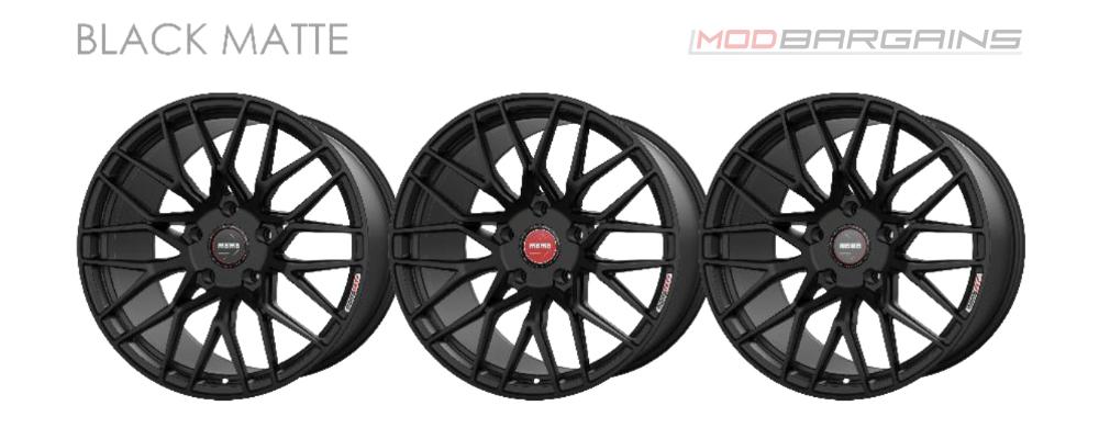 Momo RF-20 Wheel Color Options Matte Black Modbargains