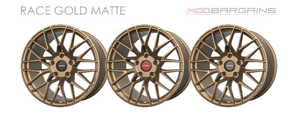 Momo RF-20 Wheel Color Options Race Gold Matte Modbargains