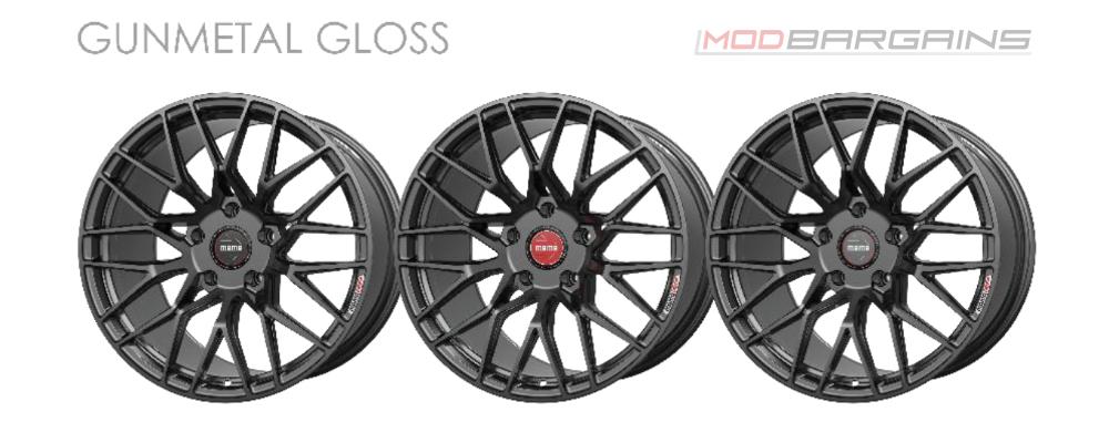 Momo RF-20 Wheel Color Options Gunmetal Gloss Modbargains
