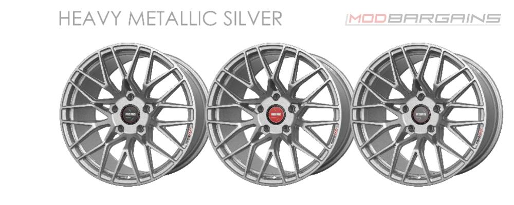 Momo RF-20 Wheel Color Options Heavy Metallic Silver Modbargains