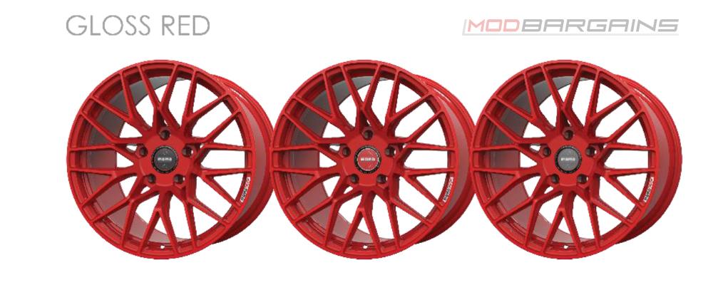 Momo RF-20 Wheel Color Options Gloss Red Modbargains