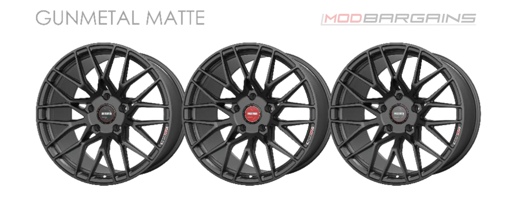 Momo RF-20 Wheel Color Options Gunmetal Matte Modbargains