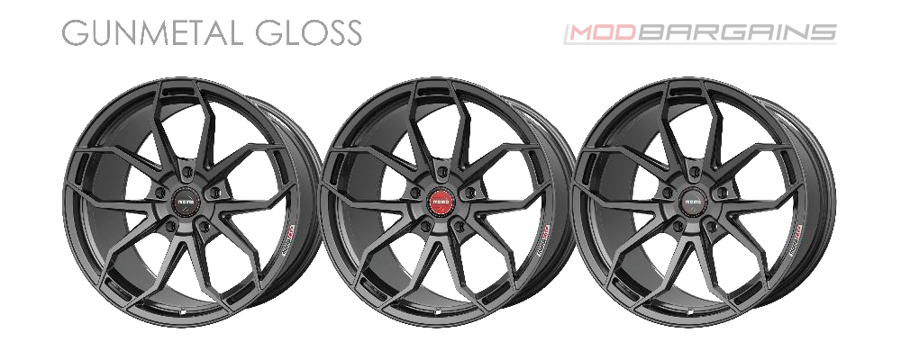 Momo RF-5C Wheel Color Options Gunmetal Gloss Modbargains