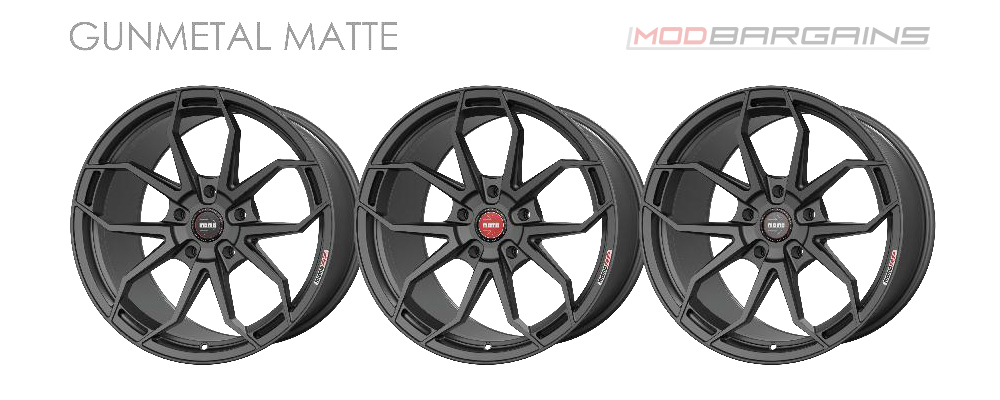 Momo RF-5C Wheel Color Options Gunmetal Matte Modbargains