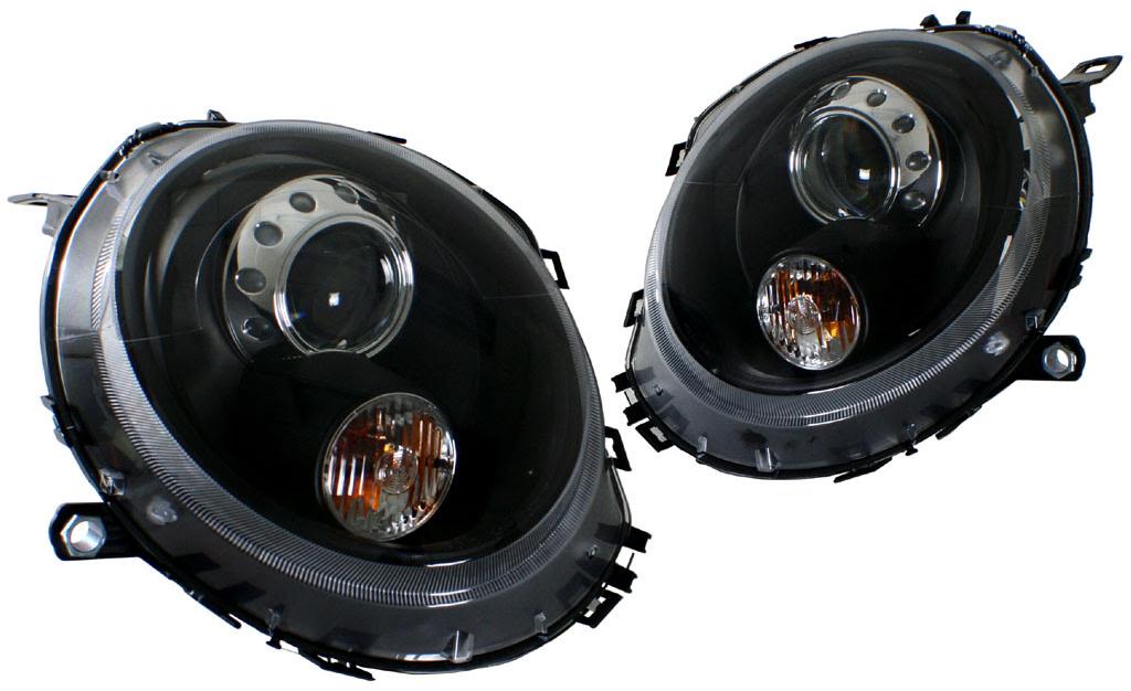 Helix/Depo Projector Headlights for Mini Cooper R56