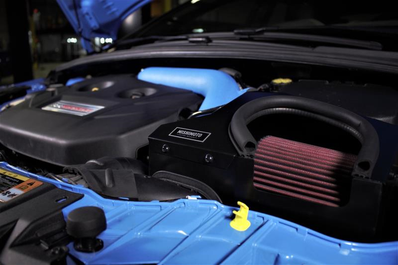 Mishimoto Air Intake Installed on Ford Focus RS
