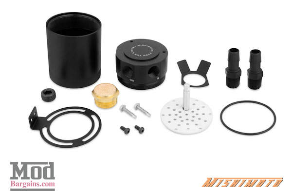 Mishimoto Oil Catch Can for 2016+ Mazda Miata [MMBCC-MIA-16P]