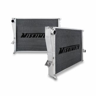 Mishimoto BMW Z3 Aluminum Performance Radiator Side by Side