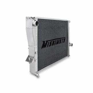 Mishimoto BMW Z3 Aluminum Performance Radiator Side View