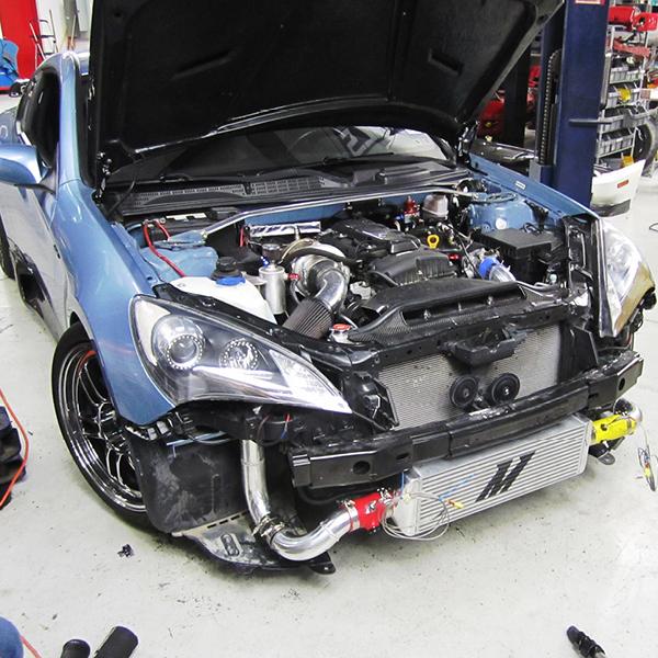 Upgraded Side Mount Intercooler Volkswagen ALH TDI