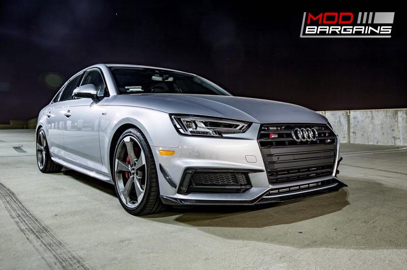 2016+ Audi A4 S4 B9 Morph Auto Design Carbon Fiber Body Kit front side