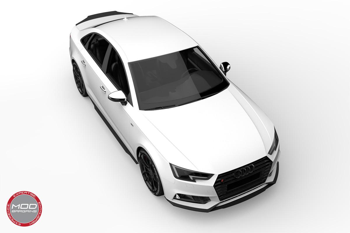 2016+ Audi A4 S4 B9 Morph Auto Design Carbon Fiber Body Kit render front side