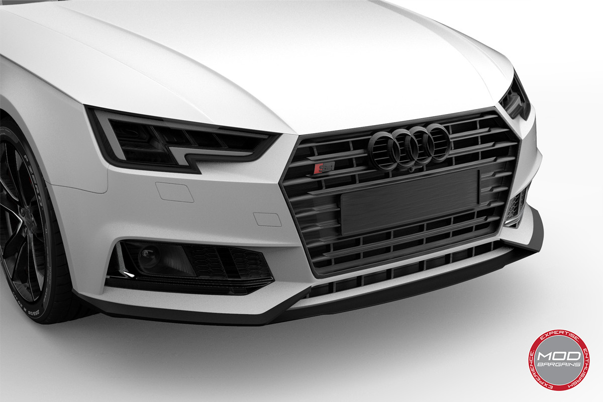 2016+ Audi A4 S4 B9 Morph Auto Design Carbon Fiber Body Kit Front Lip Diffuser Side Skirts Valance Canards