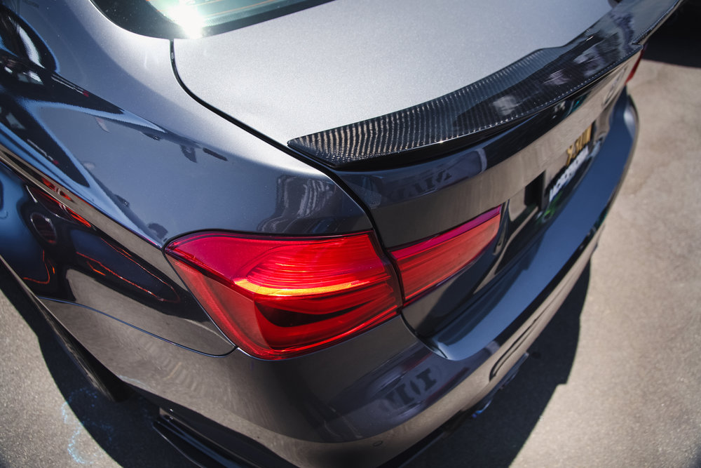 Morph Auto Design Fang Spoiler Installed BMW M3 F80 (2)