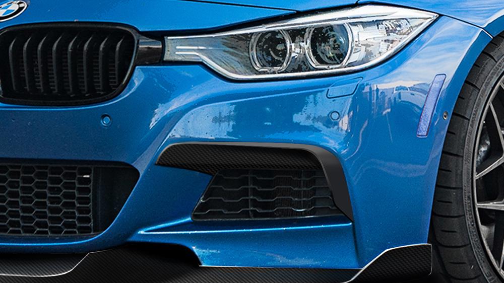 Morph Auto Design MAD Fang Upper Valences BMW F30