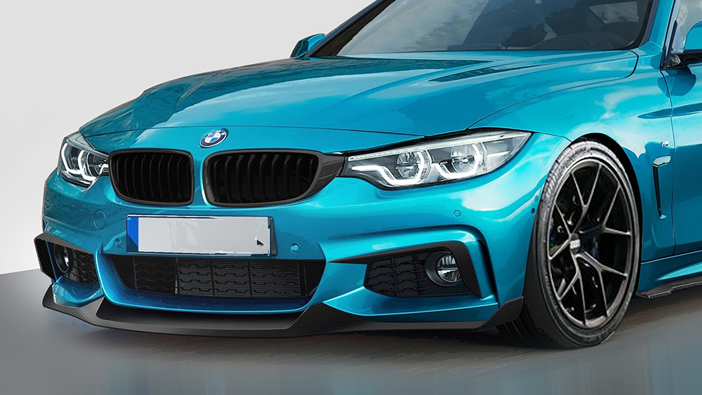 Morph Auto Design MAD Fang Front Lip BMW F32 F36 M-Sport