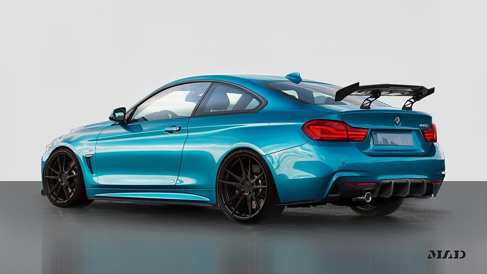 Morph Auto Design MAD Fang Rear Diffuser BMW F32 F36 M-Sport