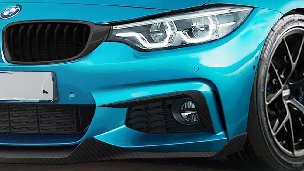 Morph Auto Design MAD Fang Upper Valances Bumper Garnish BMW F32 M-Sport