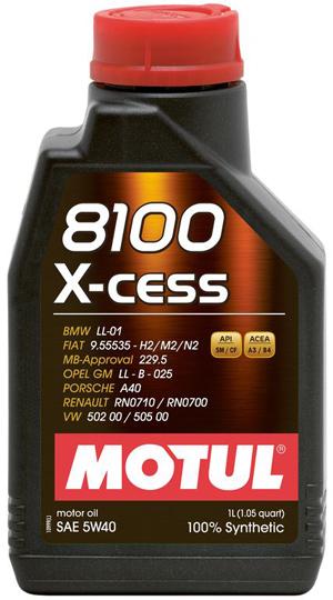 Motul 8100 X-cess 5W40 1 Liter