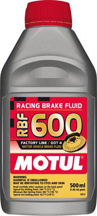 Motul RBF600 DOT 4 Brake Fluid