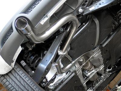 Neuspeed Audi A3 TDI Exhaust Underside