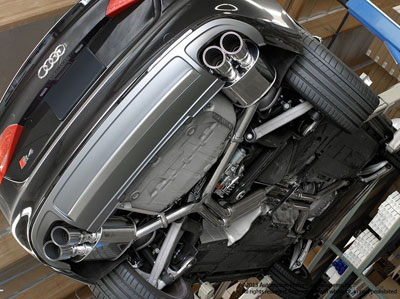 Neuspeed Audi S4 B8 Exhaust