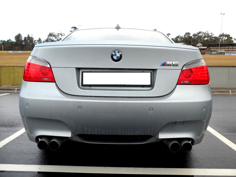 BMW OEM E60 LCI Tail Lights on M5