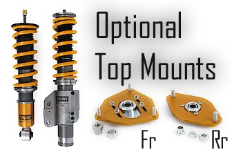 Ohlins Road And Track Coilover Top Hats For GT86 FRS BRZ