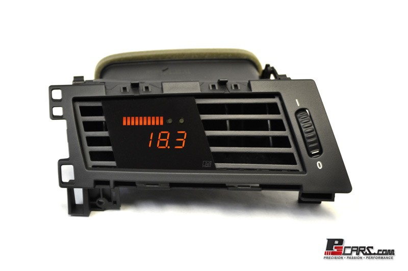 P3 Cars Vent Integrated Digital Gauge BMW E60