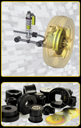 Powerflex Bushings improve every aspect of vehicle handling and stability