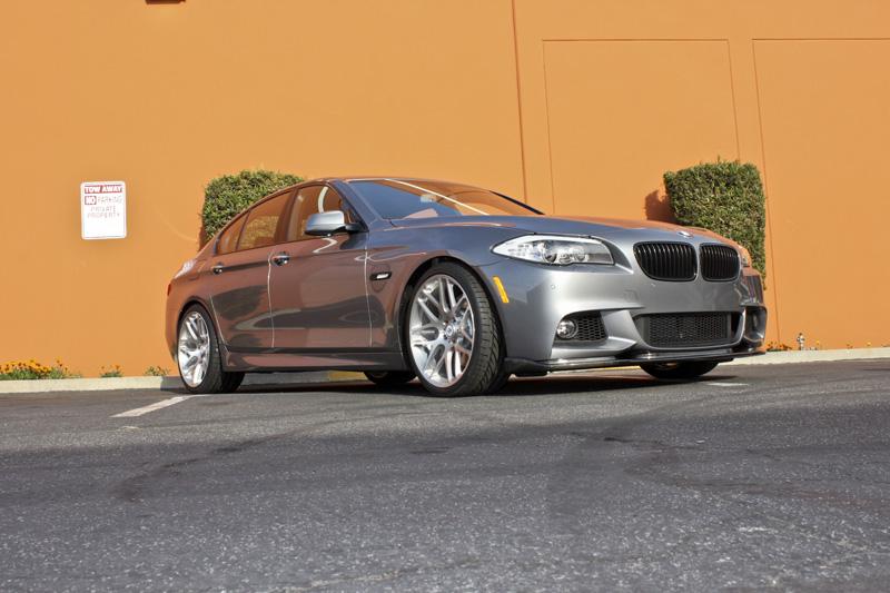 Carbon Fiber Front Splitter for 2010+ BMW 5-Series w/M-Sport [F10] HM Style