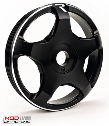 Raceseng Revo Crank Pulley Black for Scion FRS/BRZ