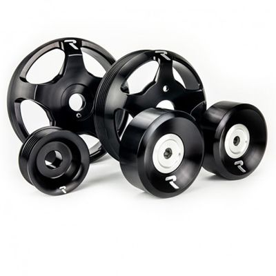Raceseng Revo Stage 2 Pulley Kit Black for Scion FRS/BRZ