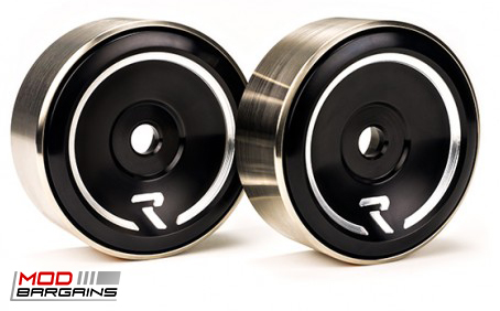 Raceseng Revo Idler Pulleys Black for Scion FRS/BRZ