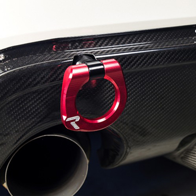 Raceseng Tug Tow Hook for Scion FRS and Subaru BRZ Installed Rear