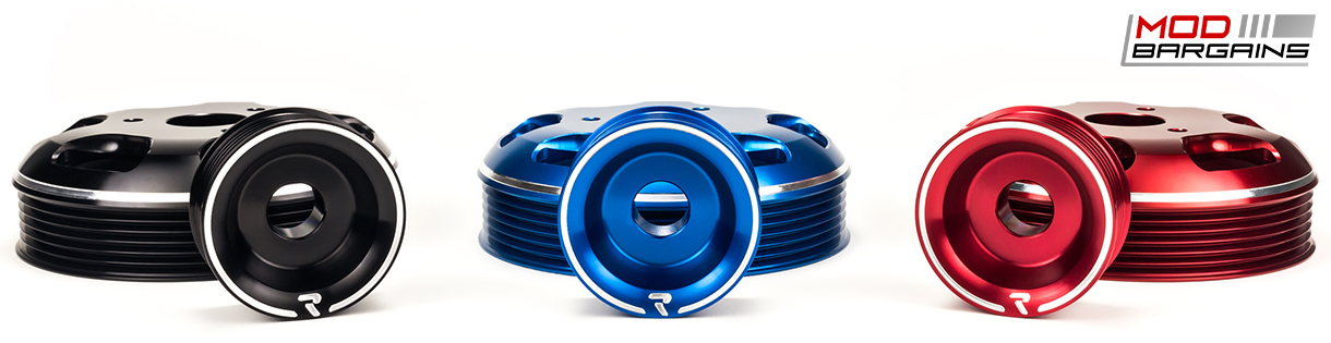 Raceseng Revo Water + Alternator Pulleys for Scion FR-S/Subaru BRZ