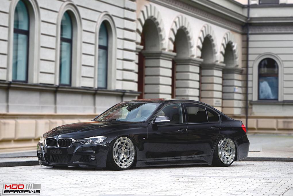 Radi8 R8CM9 Wheels Installed on BMW