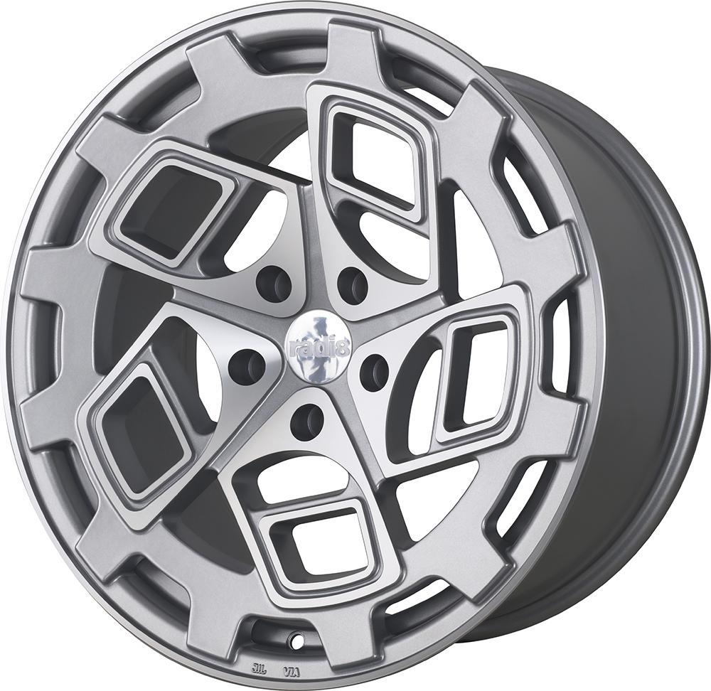 Radi8 R8CM9 wheels in Matte Silver for BMW