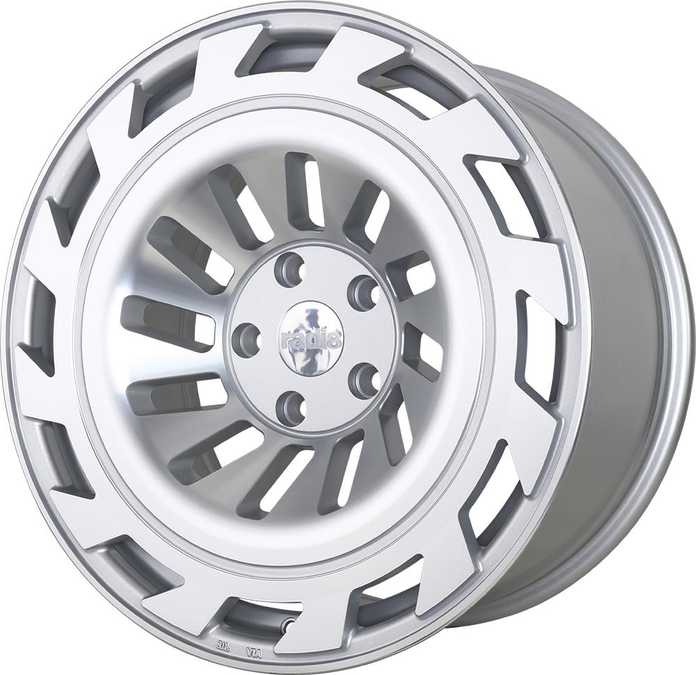 Radi8 R8T12 wheels in Matte Silver for Volkswagen