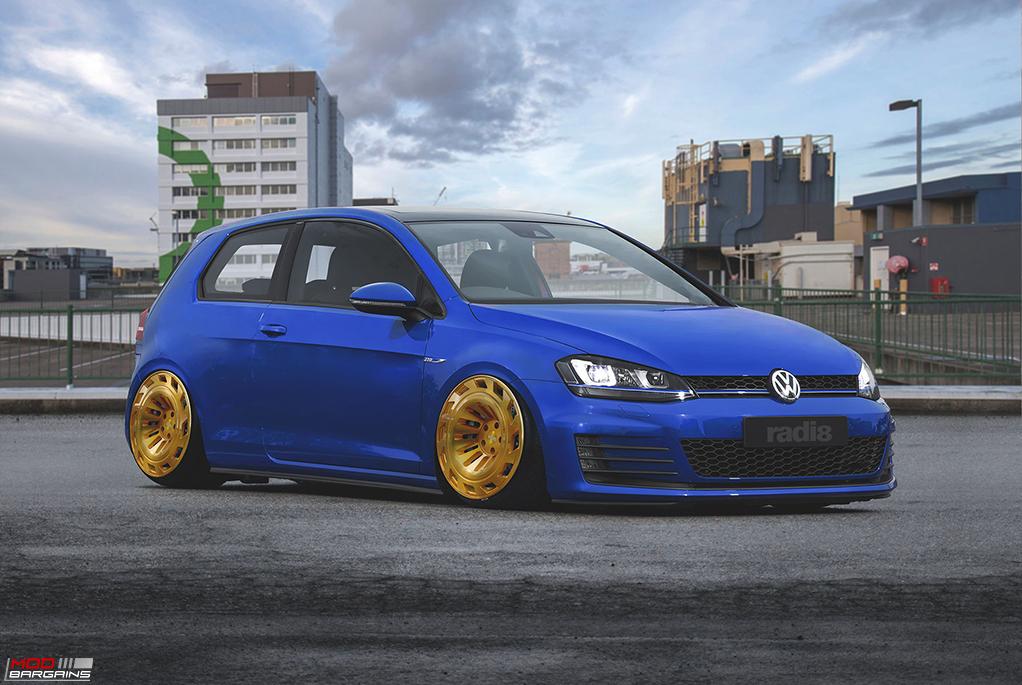 Radi8 R8T12 Wheels Installed on Volkswagen (3)