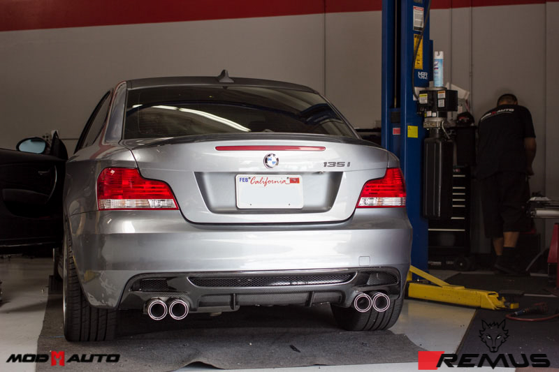 Remus Sport Exhaust System Installed on BMW F30 (3)