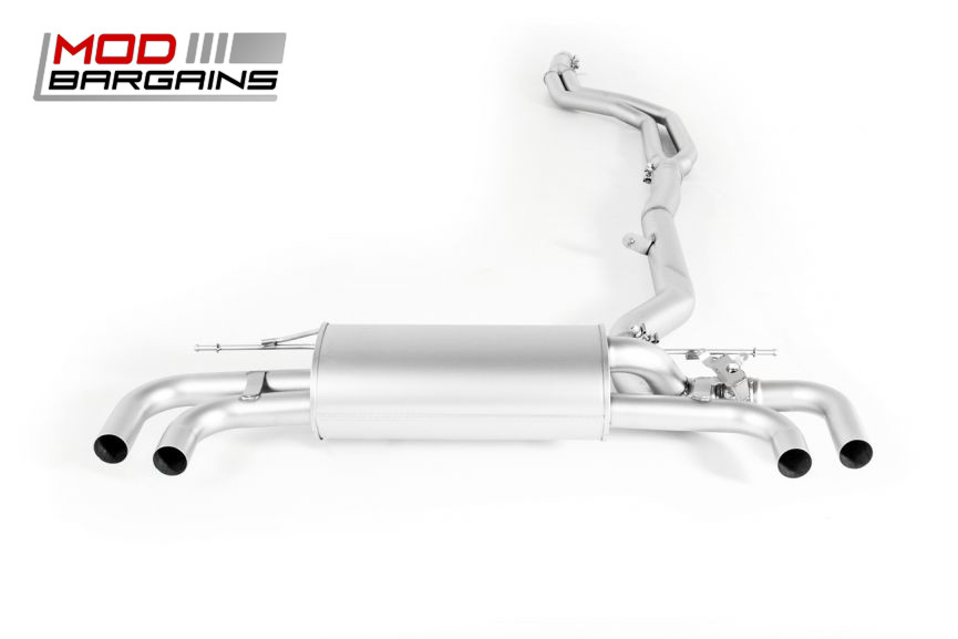 Remus Exhaust Axle Back Cat Back BMW G30 540i xDrive Stainless Steel Performance Valved
