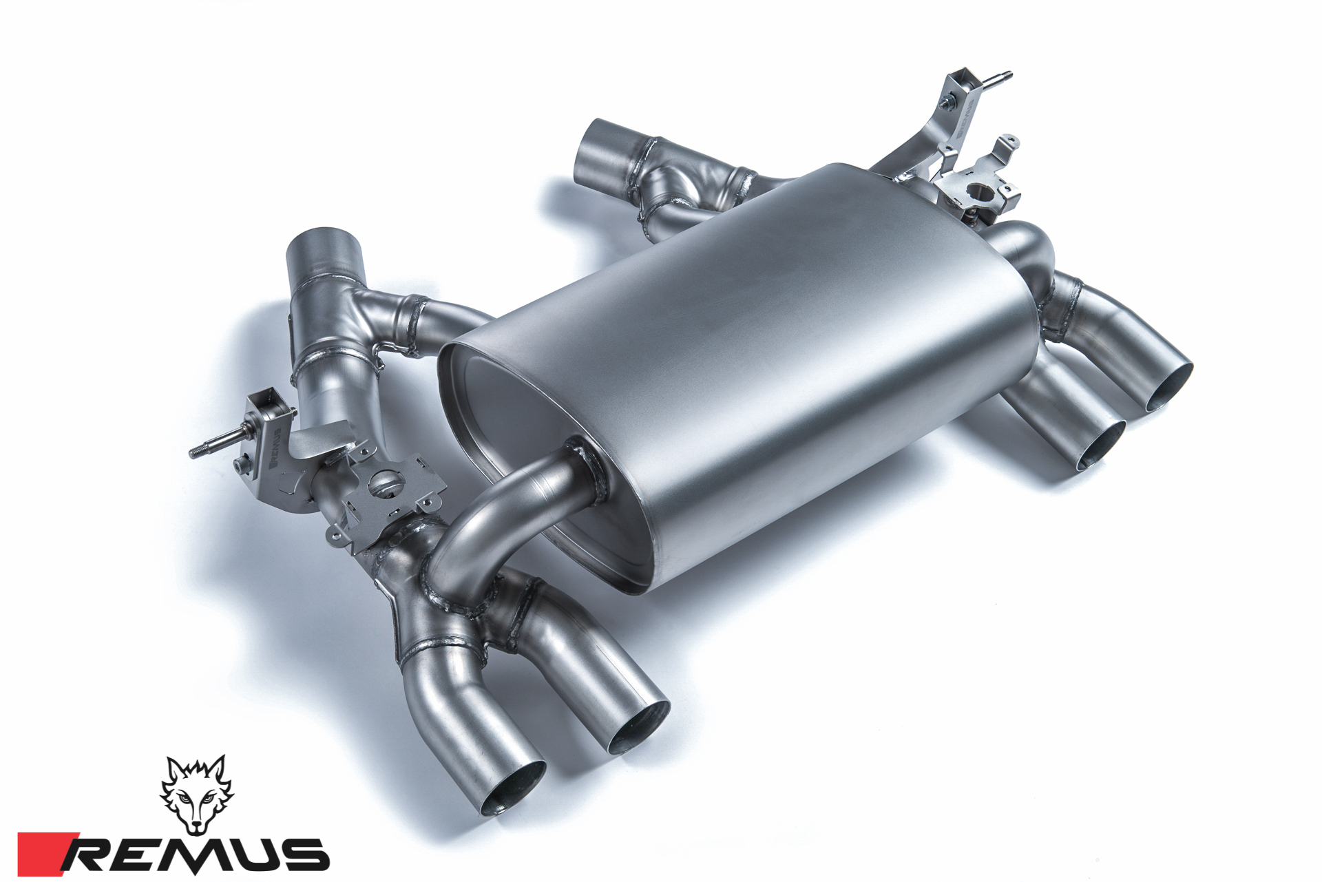 REMUS Sport Cat-Back Exhaust 2014+ BMW M3 M4 [F80/F82] Muffler Section