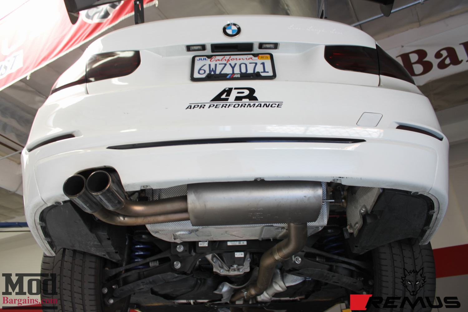 Remus Sport Exhaust System Installed on BMW F30 (2)