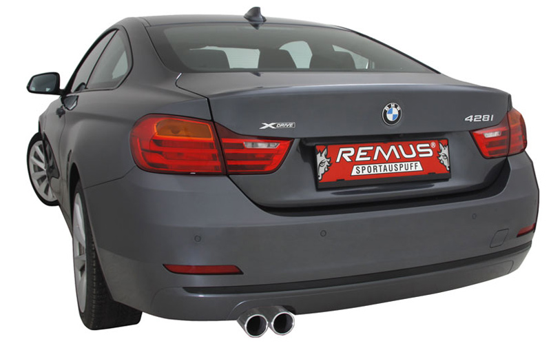 Remus Exhaust for BMW 428i Installed 1